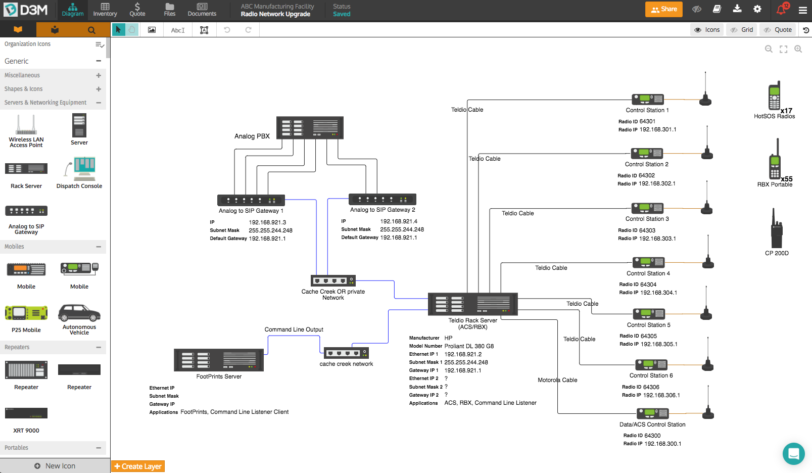 Top 4 Ways To Quickly Create Professional Network Diagrams