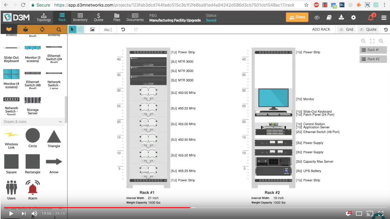 Product Update Webinar: Rack Diagrams